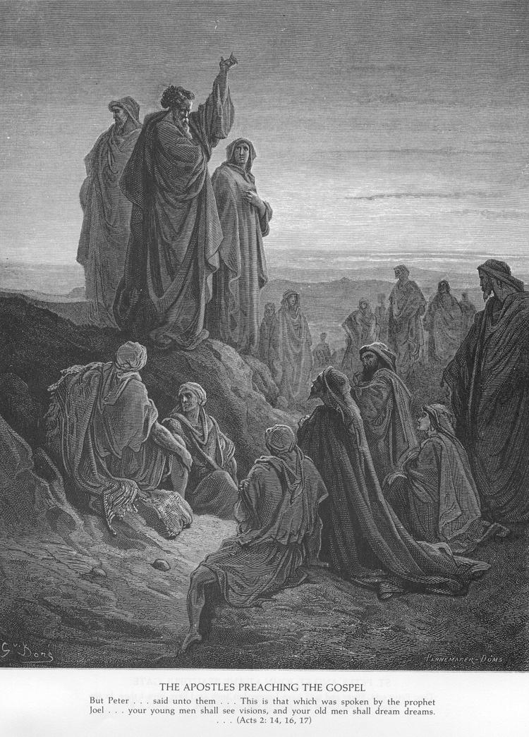 Acts 2:14-36. Apostles Preach the Gospel