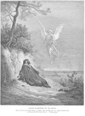 1 Kings 19 - Elijah Is Nourished by an Angel