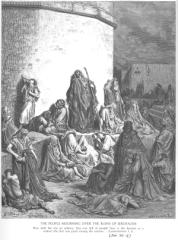 Jer 39 - People Mourn over the Destruction of Jerusalem