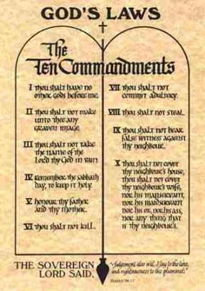 10 ten commandments catholic Quotes