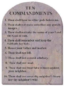 Decalogue: Ten Commandments