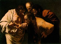 Michelangelo Merisi da Caravaggio: The Incredulity of Saint Thomas